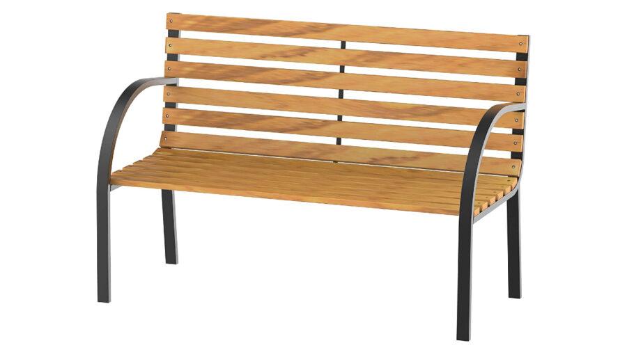 banco de madera para jardín