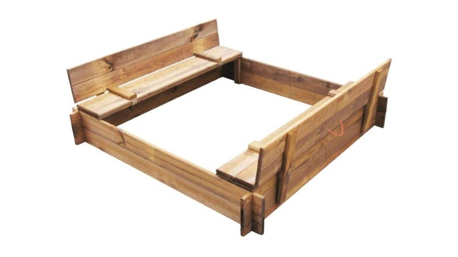 banco de madera para niños