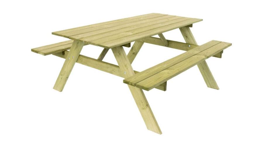 banco de picnic para jardín