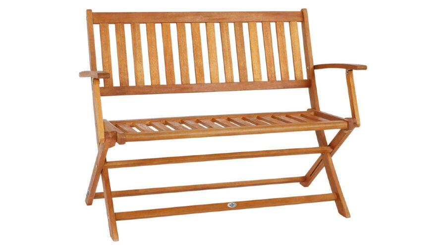 banco de madera para balcón