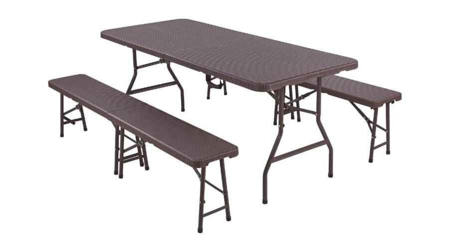 banco de picnic para terraza