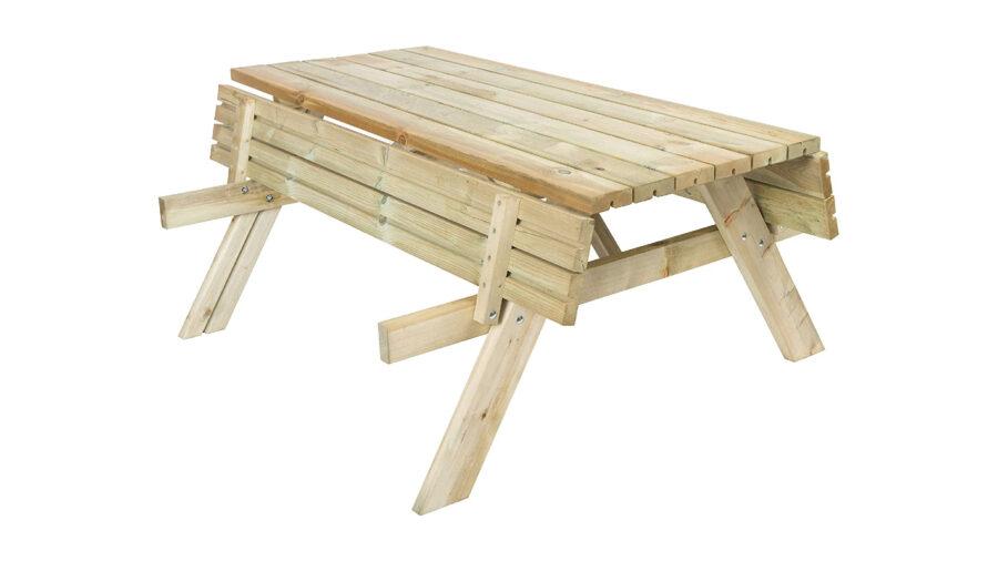 banco de picnic plegable