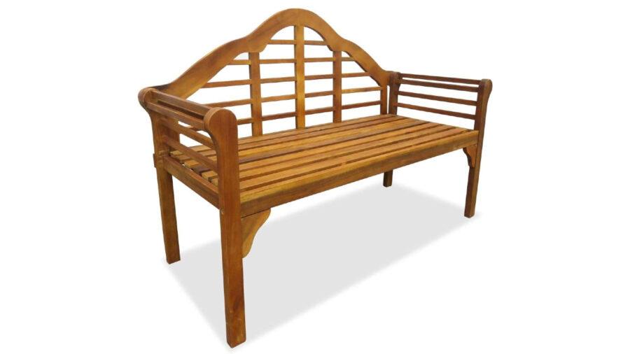 banco decorativo de madera